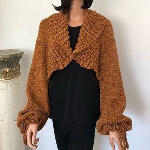 Hand Knits 2 Love Shrug Sweater Shawl Designer